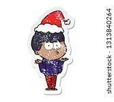 hand drawn distressed sticker... | Shutterstock .eps vector #1313840264