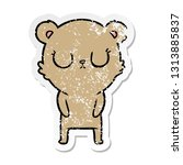 distressed sticker of a... | Shutterstock .eps vector #1313885837