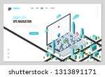design website or landing page... | Shutterstock .eps vector #1313891171