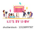 television games competitions... | Shutterstock .eps vector #1313899787