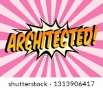speech bubbles with on color in ...   Shutterstock .eps vector #1313906417
