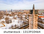riga  latvia  february 14  2018 ... | Shutterstock . vector #1313910464