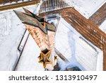 riga  latvia  february 14  2018 ... | Shutterstock . vector #1313910497