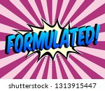 speech bubbles with on color in ...   Shutterstock .eps vector #1313915447