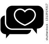 chat conversation bubble...   Shutterstock .eps vector #1313919317