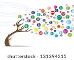 icon tree | Shutterstock .eps vector #131394215