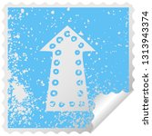 distressed square peeling... | Shutterstock .eps vector #1313943374