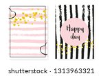 bridal shower card with dots... | Shutterstock .eps vector #1313963321