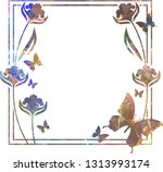 beautiful mosaic background... | Shutterstock .eps vector #1313993174