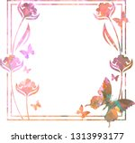 beautiful mosaic background... | Shutterstock .eps vector #1313993177