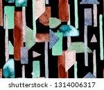 bauhaus seamless pattern.... | Shutterstock . vector #1314006317