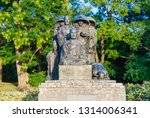 view of monument  in public...   Shutterstock . vector #1314006341