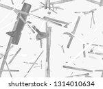 bauhaus seamless pattern.... | Shutterstock . vector #1314010634