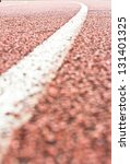 close up curve running track... | Shutterstock . vector #131401325