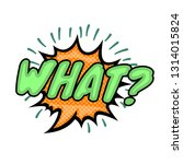 what colorful comic speech...   Shutterstock .eps vector #1314015824