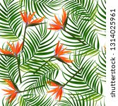 bright tropical background.... | Shutterstock .eps vector #1314025961