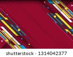 red color abstract background... | Shutterstock .eps vector #1314042377