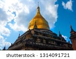 beautiful golden spire of the... | Shutterstock . vector #1314091721
