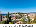 nice  france   october 4  2018  ... | Shutterstock . vector #1314096401