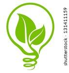ecological light bulb   Shutterstock .eps vector #131411159