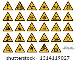 Warning Sign Collection Din...