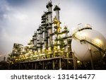 petrochemical plant column... | Shutterstock . vector #131414477