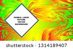 mixture of acrylic paints.... | Shutterstock .eps vector #1314189407