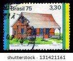 brazil circa 1975 a stamp... | Shutterstock . vector #131421161