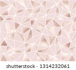 fashionable polygonal seamless...   Shutterstock .eps vector #1314232061