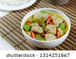 green curry with fish balls ...   Shutterstock . vector #1314251867