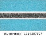 botswana painted flag....   Shutterstock . vector #1314257927