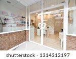 beauty  wellness and spa salon...   Shutterstock . vector #1314312197