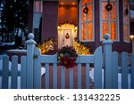Beautiful Holiday Entrance...