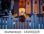 Beautiful Holiday Entrance...