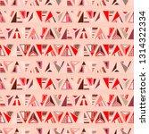 seamless vector pattern.... | Shutterstock .eps vector #1314322334