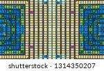 abstract kaleidoscope... | Shutterstock . vector #1314350207