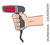 vector of barcode reader | Shutterstock .eps vector #1314354254