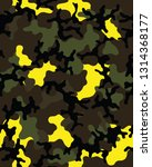 fashionable camouflage pattern... | Shutterstock .eps vector #1314368177