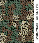 camouflage design.seamless... | Shutterstock .eps vector #1314371141