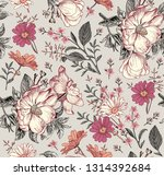 seamless pattern. realistic... | Shutterstock .eps vector #1314392684