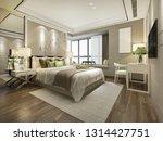 3d rendering beautiful luxury... | Shutterstock . vector #1314427751