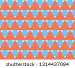 geometric pattern background | Shutterstock . vector #1314437084