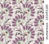 seamless floral pattern | Shutterstock .eps vector #131451185