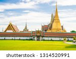 temple of emerald buddha with...   Shutterstock . vector #1314520991