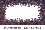 coated chocolate candies frame... | Shutterstock . vector #1314537581