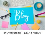 blog and information website... | Shutterstock . vector #1314575807