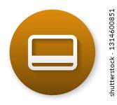 debit card payment icon. vector ... | Shutterstock .eps vector #1314600851