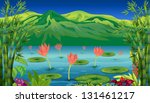 illustration of the water...   Shutterstock . vector #131461217
