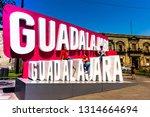 guadalajara  jalisco  mexico ...   Shutterstock . vector #1314664694