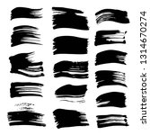 abstract black strokes of hand...   Shutterstock .eps vector #1314670274